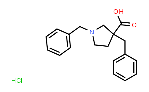 1,3-Dibenzylpyrrolidine-3-carboxylic acid hydrochloride