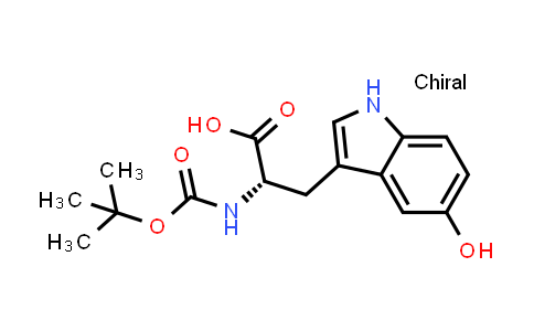 (S)-2-((tert-Butoxycarbonyl)amino)-3-(5-hydroxy-1H-indol-3-yl)propanoic acid