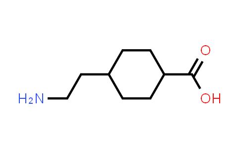 4-(2-Aminoethyl)cyclohexanecarboxylic acid