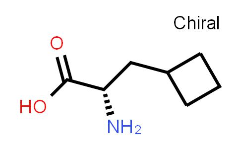 (S)-2-Amino-3-cyclobutylpropanoic acid