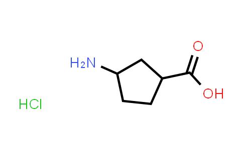 3-Aminocyclopentanecarboxylic acid hydrochloride