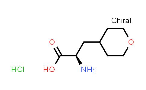 (R)-2-Amino-3-(tetrahydro-2H-pyran-4-yl)propanoic acid hydrochloride