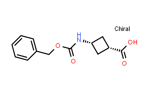 cis-3-(((Benzyloxy)carbonyl)amino)cyclobutanecarboxylic acid