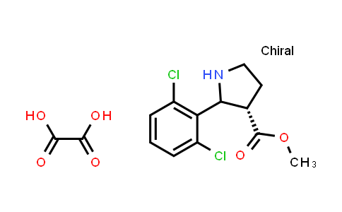 (3S)-Methyl 2-(2,6-dichlorophenyl)pyrrolidine-3-carboxylate oxalate