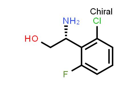 (R)-2-Amino-2-(2-chloro-6-fluorophenyl)ethanol