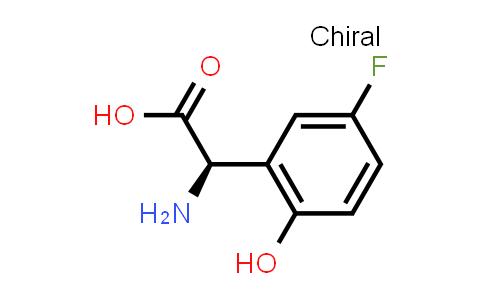 (R)-2-Amino-2-(5-fluoro-2-hydroxyphenyl)acetic acid