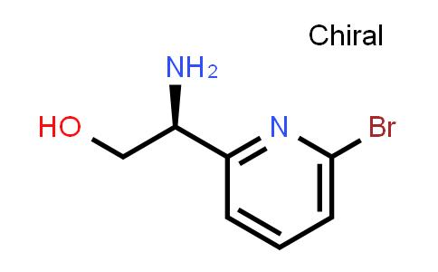 (S)-2-Amino-2-(6-bromopyridin-2-yl)ethanol
