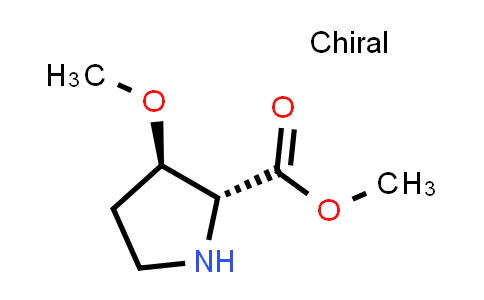 (2R,3R)-Methyl 3-methoxypyrrolidine-2-carboxylate