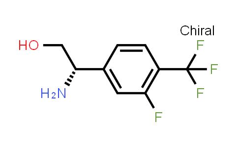(S)-2-Amino-2-(3-fluoro-4-(trifluoromethyl)phenyl)ethanol