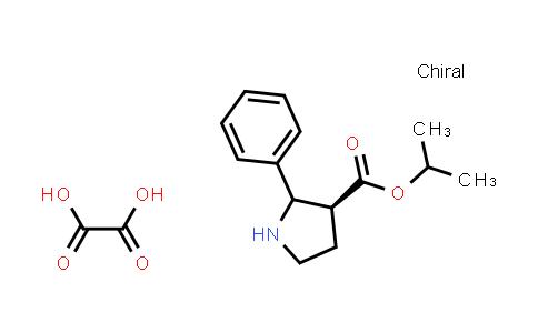 (3S)-Isopropyl 2-phenylpyrrolidine-3-carboxylate oxalate