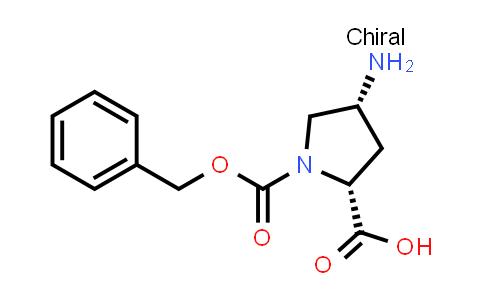 (2R,4R)-4-Amino-1-((benzyloxy)carbonyl)pyrrolidine-2-carboxylic acid