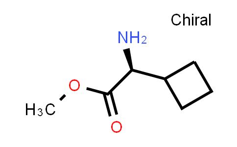 (S)-Methyl 2-amino-2-cyclobutylacetate