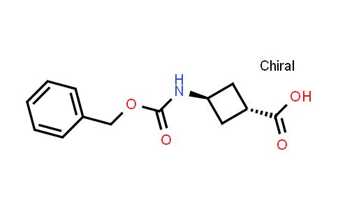 trans-3-(((Benzyloxy)carbonyl)amino)cyclobutanecarboxylic acid
