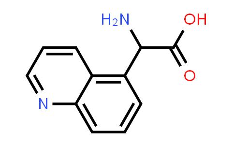 Amino(quinolin-5-yl)acetic acid