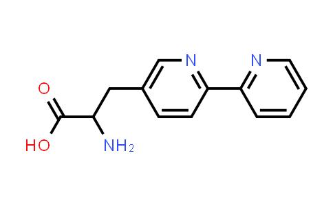 3-([2,2'-Bipyridin]-5-yl)-2-aminopropanoic acid