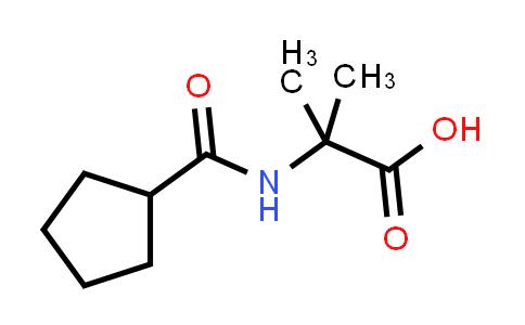 2-(Cyclopentanecarboxamido)-2-methylpropanoic acid
