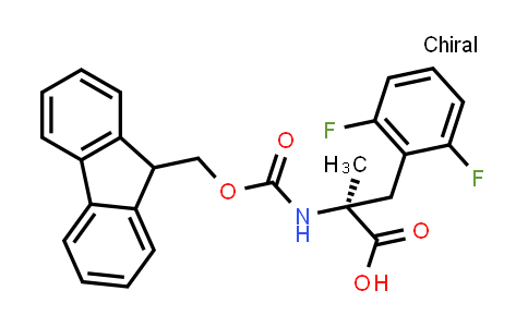 (S)-2-((((9H-Fluoren-9-yl)methoxy)carbonyl)amino)-3-(2,6-difluorophenyl)-2-methylpropanoic acid