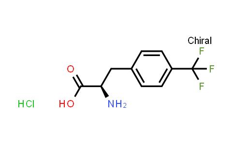 (R)-2-Amino-3-(4-(trifluoromethyl)phenyl)propanoic acid hydrochloride