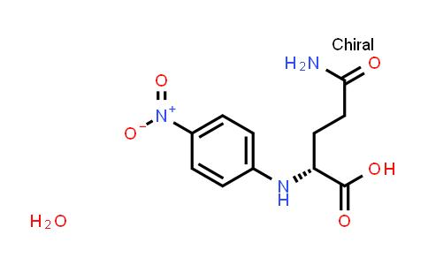 (4-Nitrophenyl)-D-glutamine hydrate