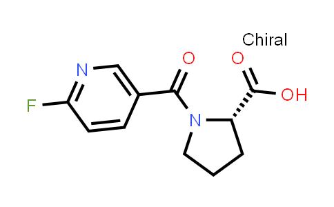 (S)-1-(6-Fluoronicotinoyl)pyrrolidine-2-carboxylic acid