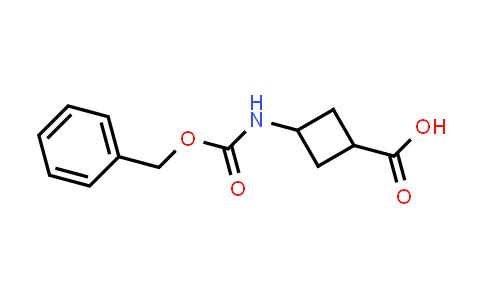 3-(((Benzyloxy)carbonyl)amino)cyclobutanecarboxylic acid
