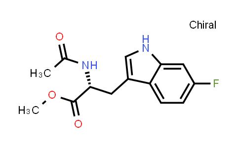 (R)-Methyl 2-acetamido-3-(6-fluoro-1H-indol-3-yl)propanoate