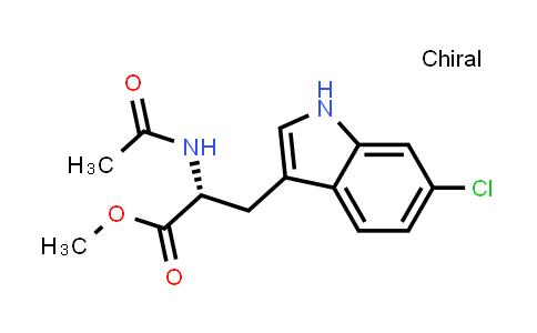 (R)-Methyl 2-acetamido-3-(6-chloro-1H-indol-3-yl)propanoate