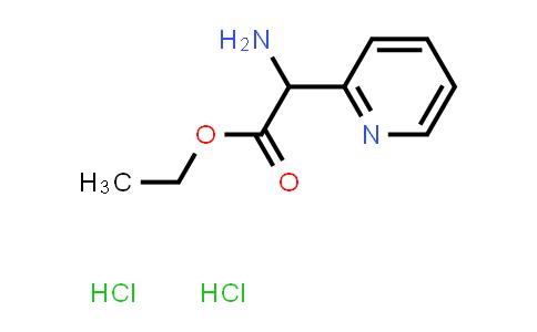 Ethyl 2-Amino-2-(2-pyridinyl)acetate Dihydrochloride