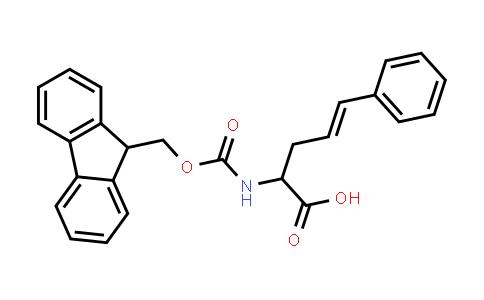 2-((((9H-Fluoren-9-yl)methoxy)carbonyl)amino)-5-phenylpent-4-enoic acid