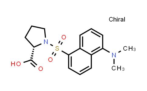 (S)-1-((5-(Dimethylamino)naphthalen-1-yl)sulfonyl)pyrrolidine-2-carboxylic acid