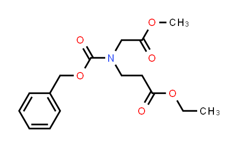 Ethyl 3-(((benzyloxy)carbonyl)(2-methoxy-2-oxoethyl)amino)propanoate