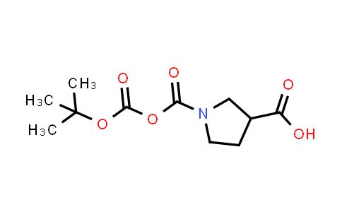 1-(((tert-Butoxycarbonyl)oxy)carbonyl)pyrrolidine-3-carboxylic acid