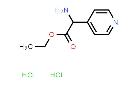 Ethyl 2-Amino-2-(4-pyridinyl)acetate Dihydrochloride