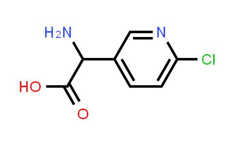 2-Amino-2-(6-chloropyridin-3-yl)acetic acid