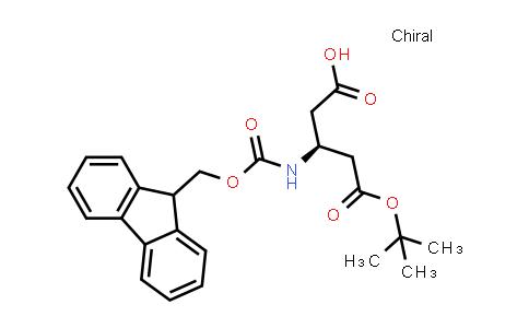 (S)-3-((((9H-Fluoren-9-yl)methoxy)carbonyl)amino)-5-(tert-butoxy)-5-oxopentanoic acid