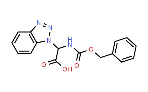 2-(1H-Benzo[d][1,2,3]triazol-1-yl)-2-(((benzyloxy)carbonyl)amino)acetic acid