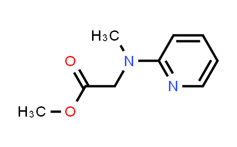 N-Methyl-N-(2-pyridyl)glycine Methyl Ester