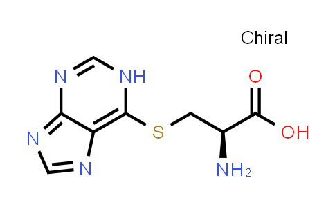 (R)-3-((1H-Purin-6-yl)thio)-2-aminopropanoic acid