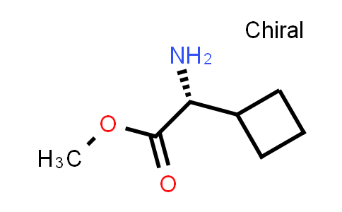 (R)-Methyl 2-amino-2-cyclobutylacetate