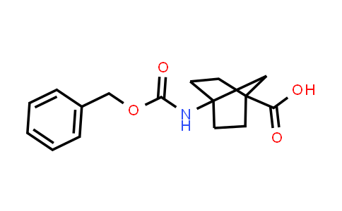 4-(((Benzyloxy)carbonyl)amino)bicyclo[2.2.1]heptane-1-carboxylic acid