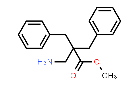 Methyl 3-amino-2,2-dibenzylpropanoate