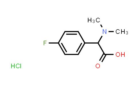 2-(Dimethylamino)-2-(4-fluorophenyl)acetic acid hydrochloride