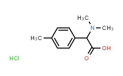 2-(Dimethylamino)-2-(p-tolyl)acetic acid hydrochloride