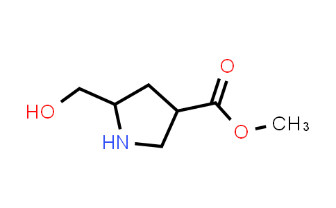 Methyl 5-(hydroxymethyl)pyrrolidine-3-carboxylate