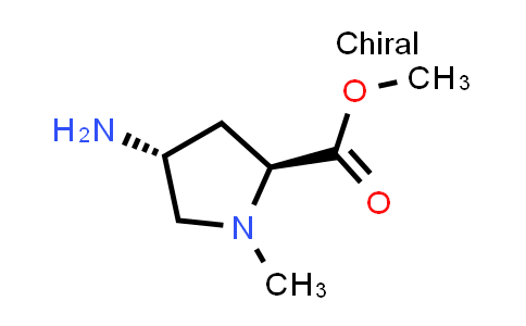 (2S,4R)-Methyl 4-amino-1-methylpyrrolidine-2-carboxylate