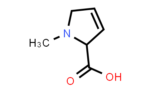1-Methyl-2,5-dihydro-1H-pyrrole-2-carboxylic acid