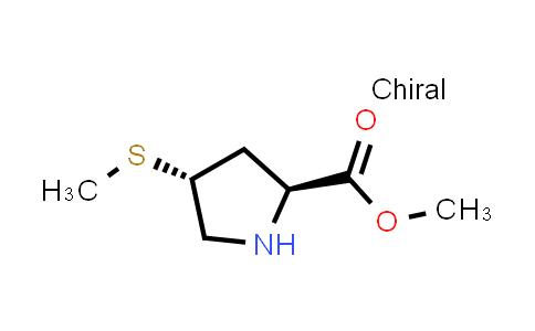 (2S,4R)-Methyl 4-(methylthio)pyrrolidine-2-carboxylate
