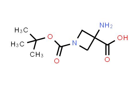 3-Amino-1-[(tert-butoxy)carbonyl]azetidine-3-carboxylic acid