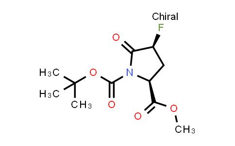 (2S,4S)-1-tert-Butyl 2-methyl 4-fluoro-5-oxopyrrolidine-1,2-dicarboxylate