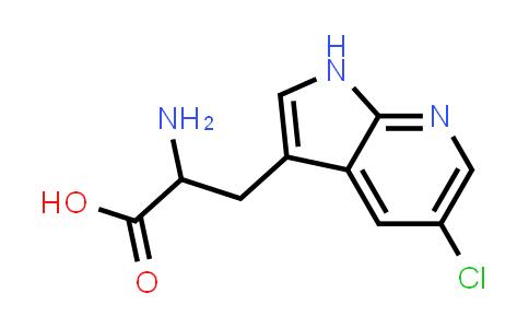 2-Amino-3-(5-chloro-1H-pyrrolo[2,3-b]pyridin-3-yl)propanoic acid